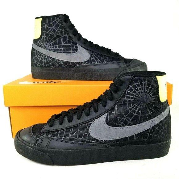 Nike Blazer Mid 77 Spiderweb Athletic Shoes 8